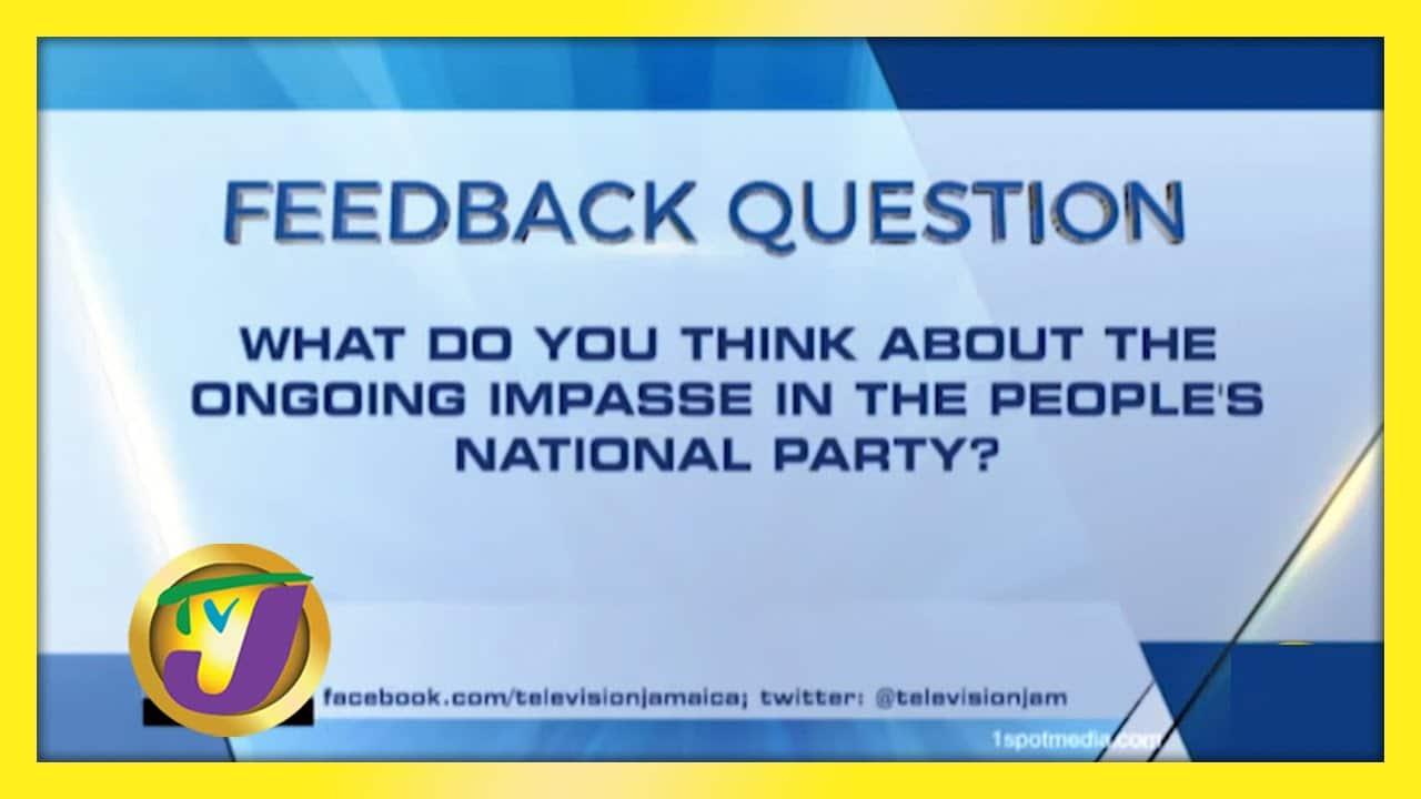 TVJ News: Feedback Question - December 8 2020 2