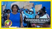 Mobay Vendors Protest - No Grand Market - December 7 2020 5