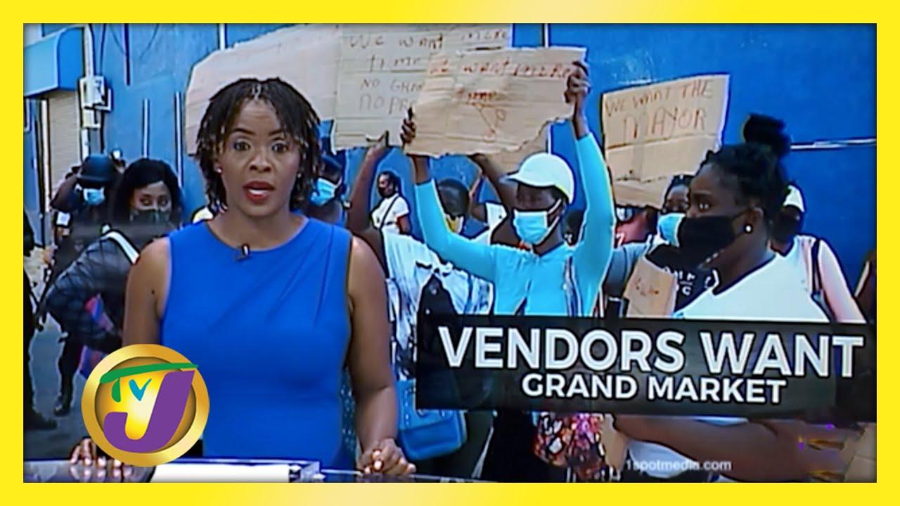 Mobay Vendors Protest - No Grand Market - December 7 2020 1
