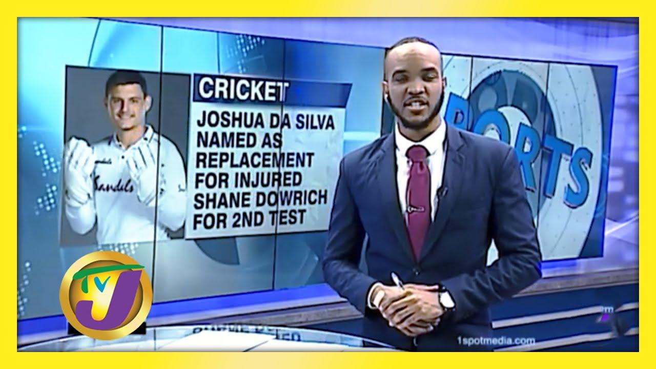 Joshua Da Silva Replaces injured Shane Dowrich - December 7 2020 1