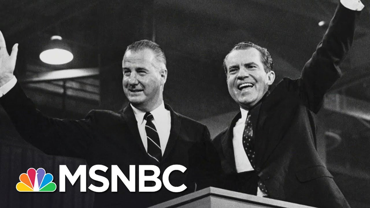 Rachel Maddow's New Book, 'Bag Man,' And The Downfall Of Spiro Agnew   The Last Word   MSNBC 1