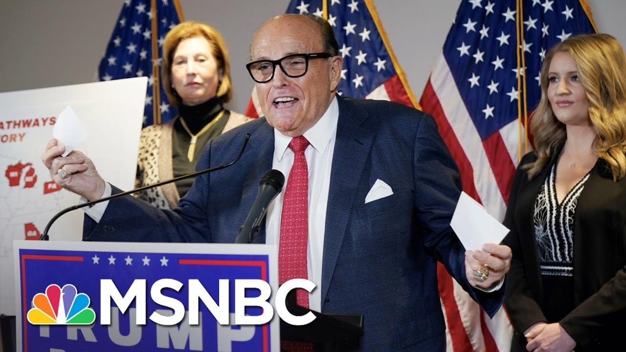 Neal Katyal: Trump's Legal Team Is The Best... At Losing | The 11th Hour | MSNBC 9