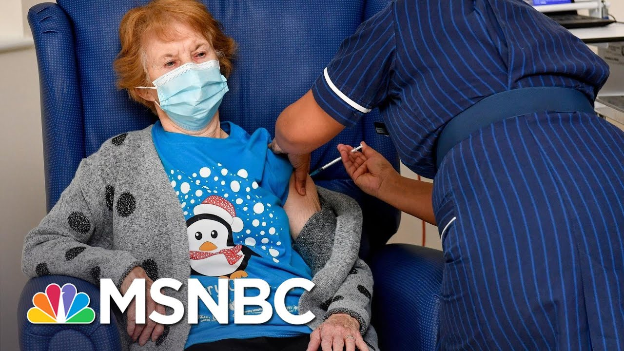 Next Coronavirus Challenge For U.S.: Vaccine Distribution Infrastructure | Rachel Maddow | MSNBC 1