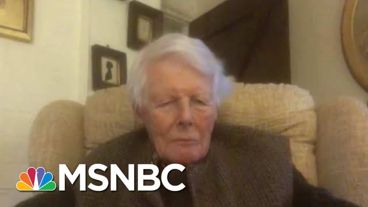 99-Year-Old UK WWII Vet Is One Of The First To Receive COVID-19 Vaccine | Hallie Jackson | MSNBC 1