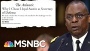 Sen. Duckworth 'Will Not Support The Waiver' For Gen. Austin To Serve As Defense Secretary | MSNBC 3