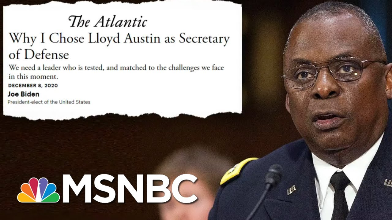 Sen. Duckworth 'Will Not Support The Waiver' For Gen. Austin To Serve As Defense Secretary | MSNBC 1