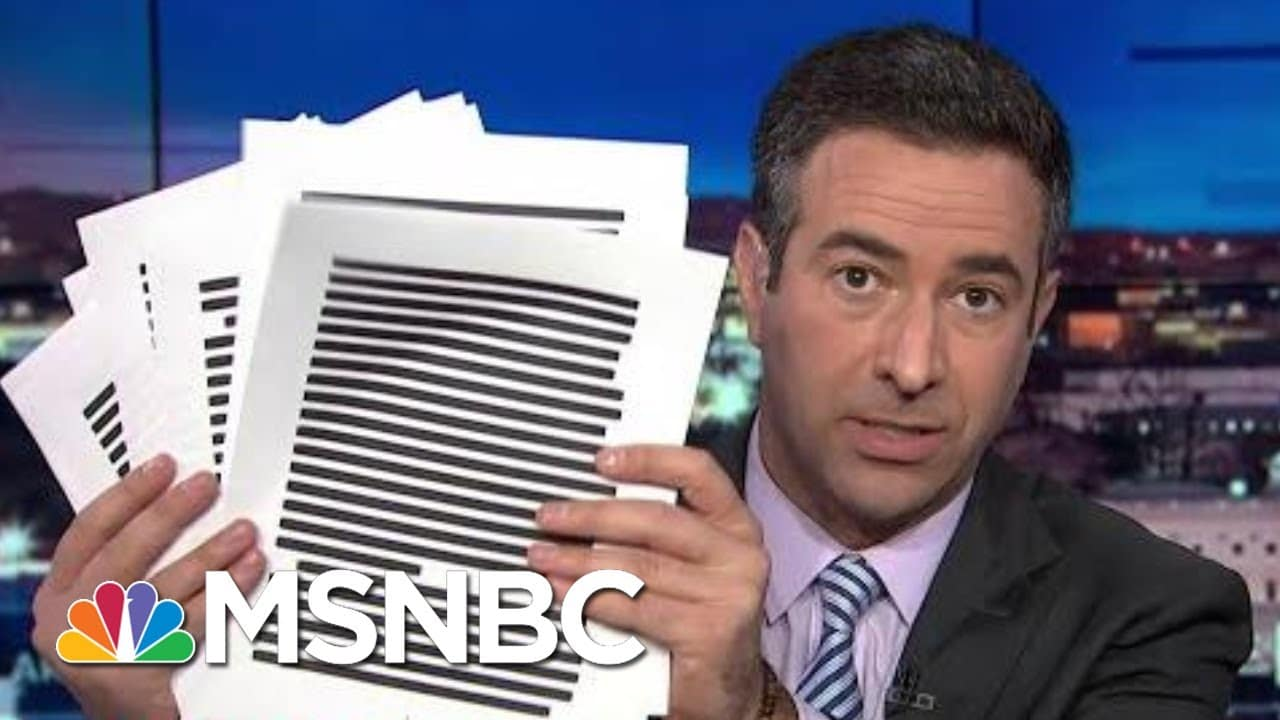 Legal Bombshell: DOJ Investigating 'Bribery-For-Pardon' Scheme | The Beat With Ari Melber | MSNBC 1