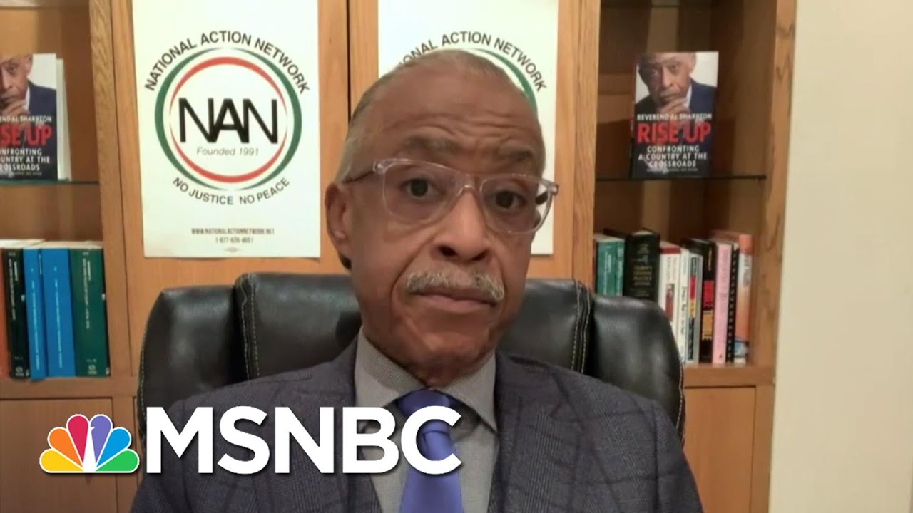 Sharpton Says Biden Was 'Very Receptive' In His Meeting With Civil Rights Groups | Deadline | MSNBC 3