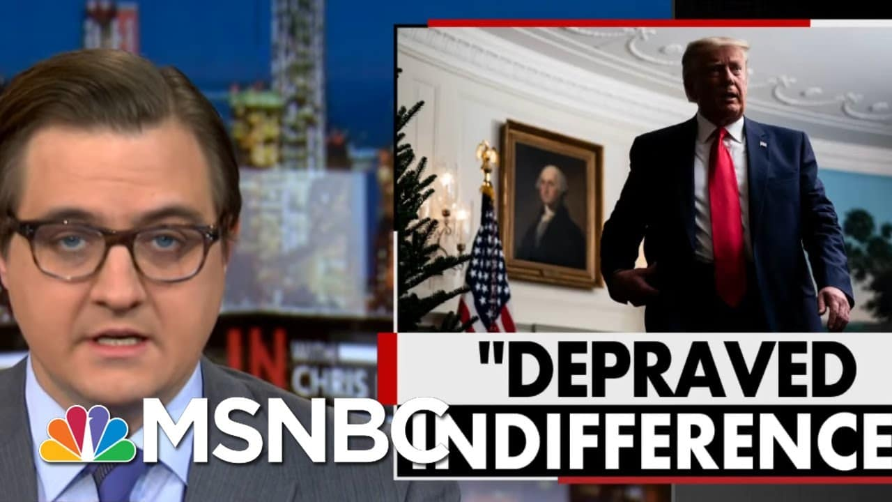 Chris Hayes: I'm Enraged Over America's 'Depraved' Covid Indifference   All In   MSNBC 1