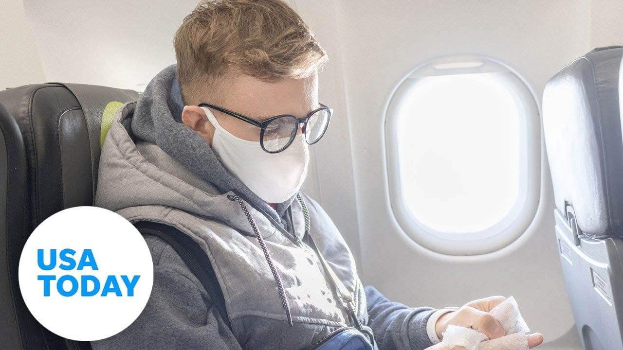 How to handle an airline seatmate who refuses to comply with mask rules   USA TODAY 1