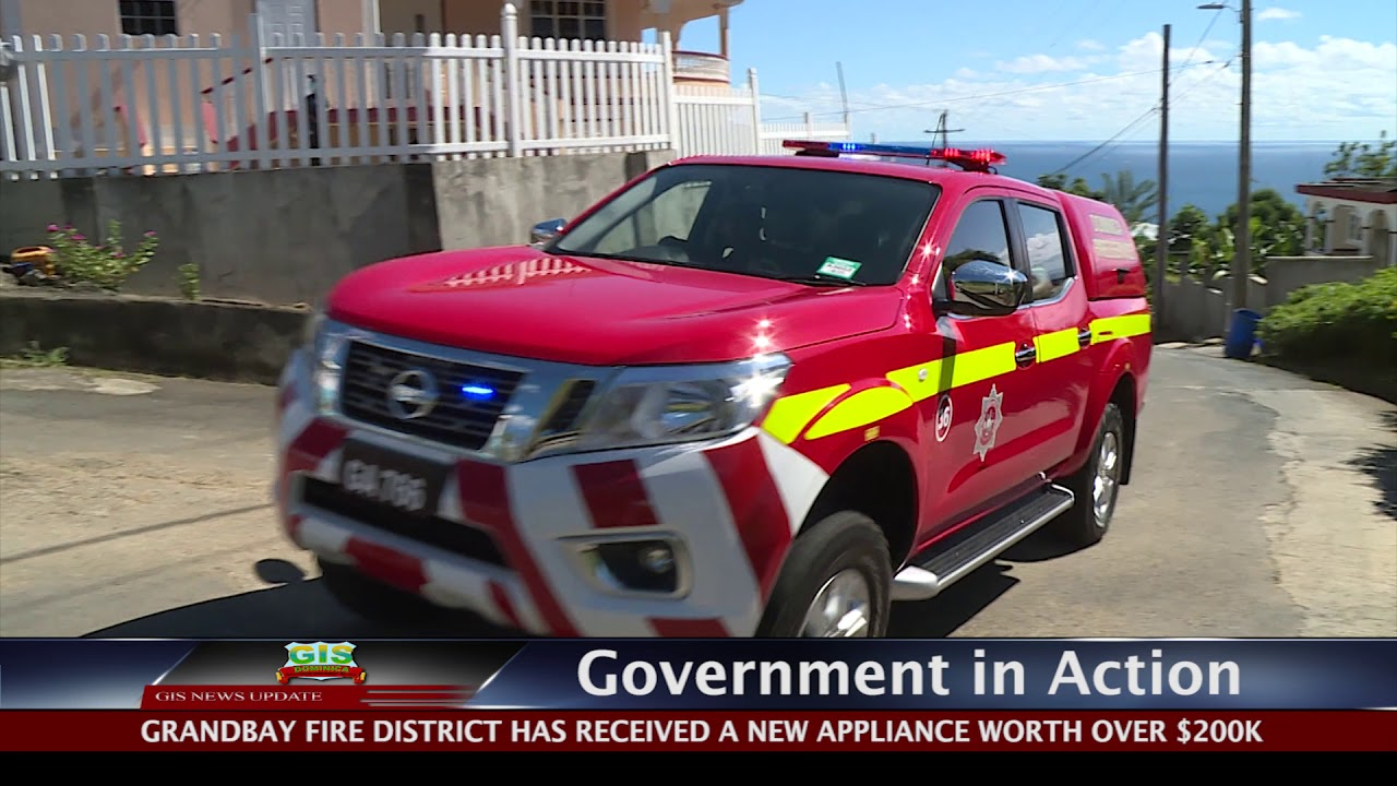 GOVERNMENT IN ACTION - New Grandbay Fire Appliance 1