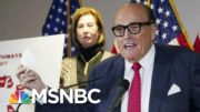 Giuliani Gets Virus Care Many Others Couldn't: NYT | Morning Joe | MSNBC 4