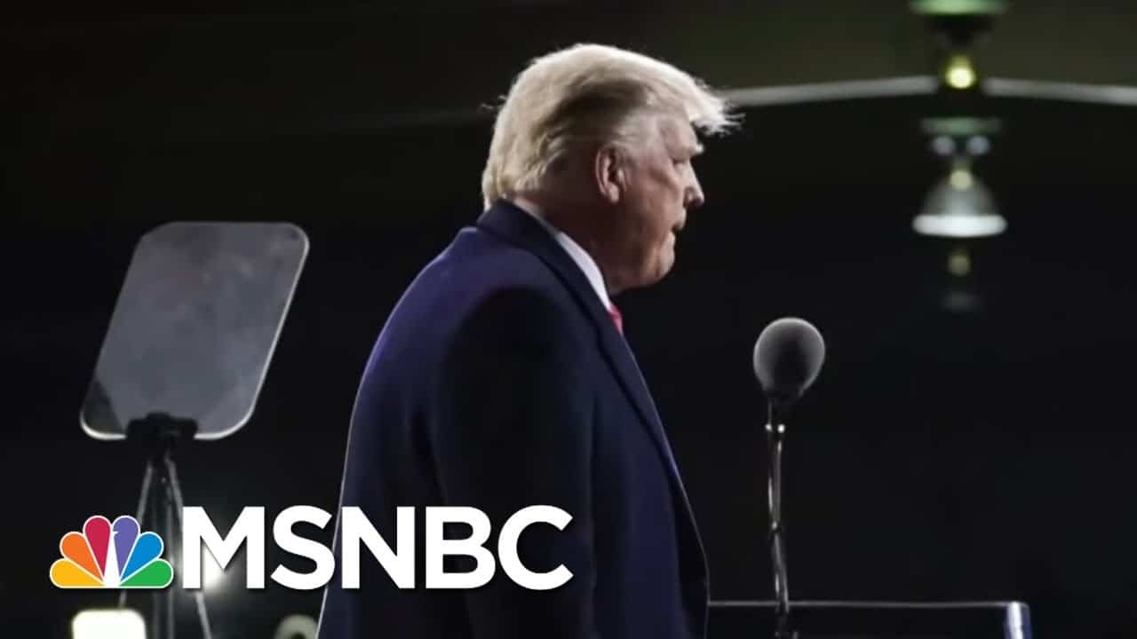 Poll: A Quarter Of Republicans Trust 2020 Election Results   Morning Joe   MSNBC 1