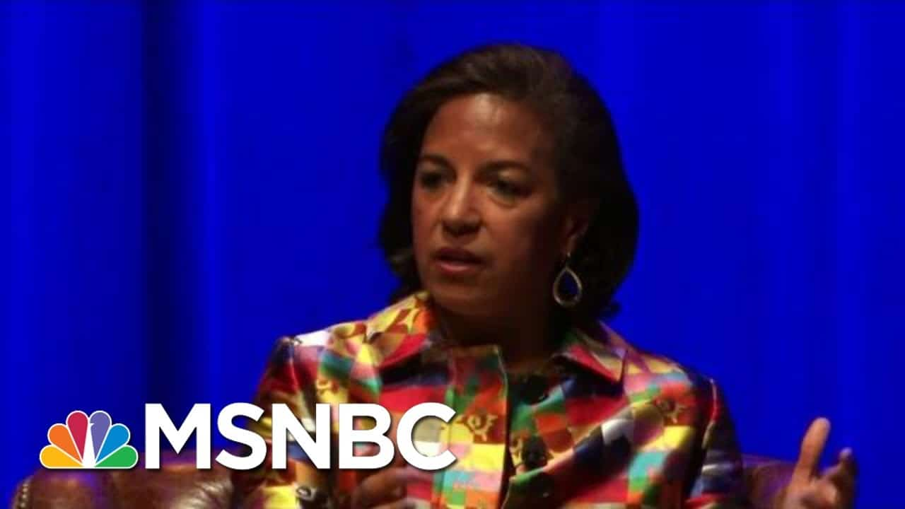 Biden To Select Susan Rice To Head Domestic Policy Council | Hallie Jackson | MSNBC 3