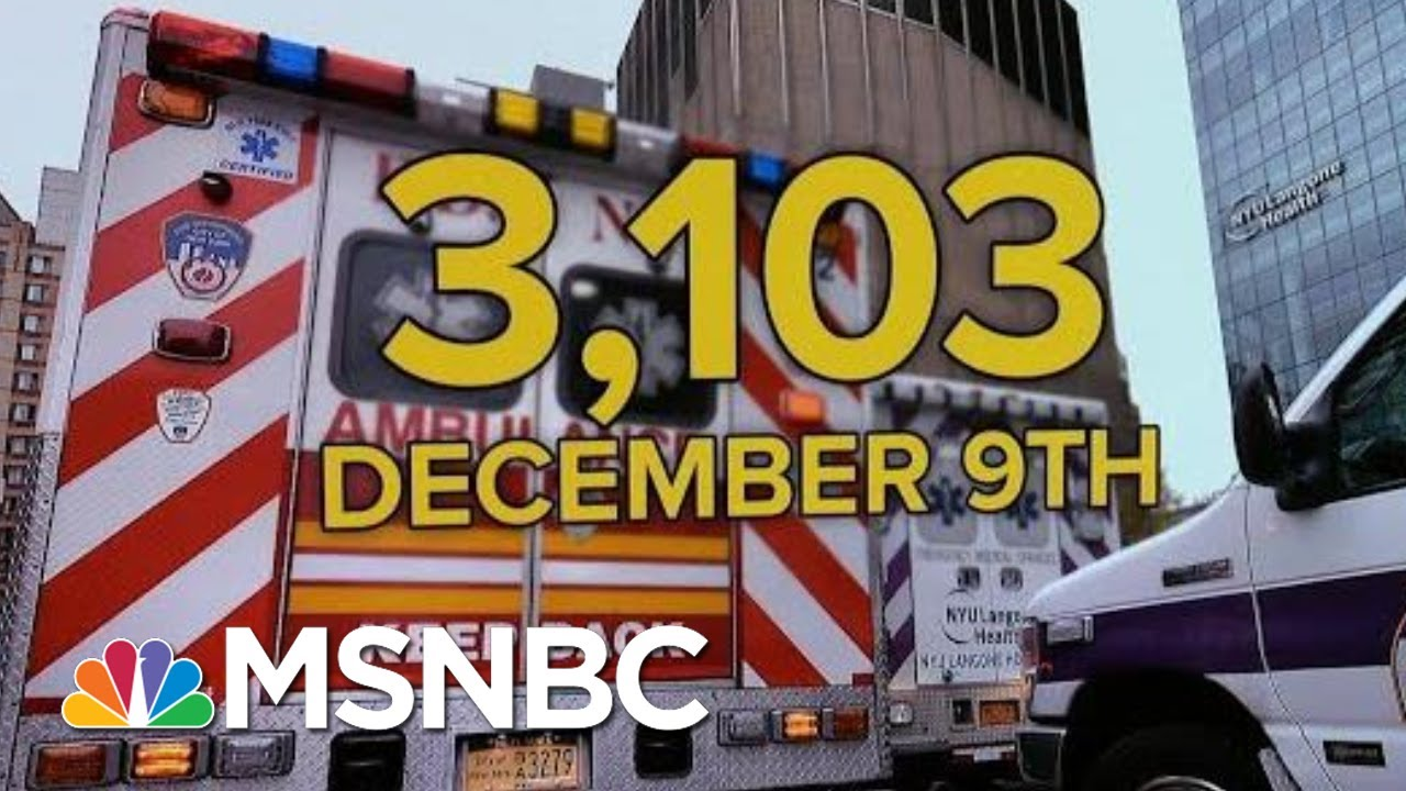 U.S. Tops 3,000 Daily Covid Deaths Setting New Record   MTP Daily   MSNBC 1