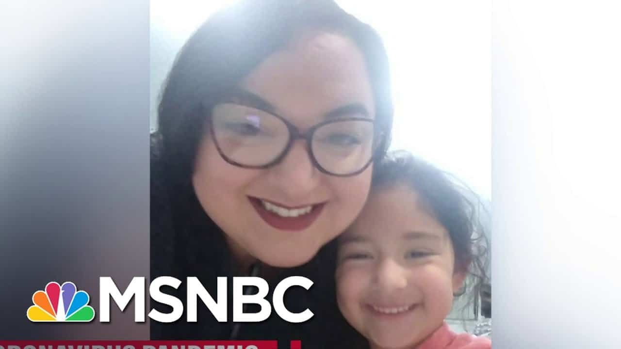 A Single Mother Details Her Pandemic Financial Struggle | Katy Tur | MSNBC 1