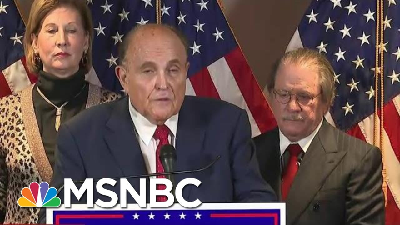 Can Trump's Scheme To Overturn 2020 Results Become A Crime? | The Beat With Ari Melber | MSNBC 1