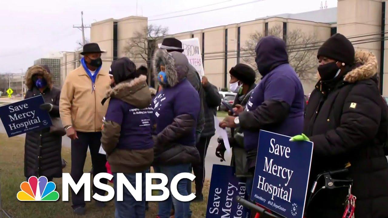 Major Hospital In Black Community Set To Close Amid Pandemic | Ayman Mohyeldin | MSNBC 1