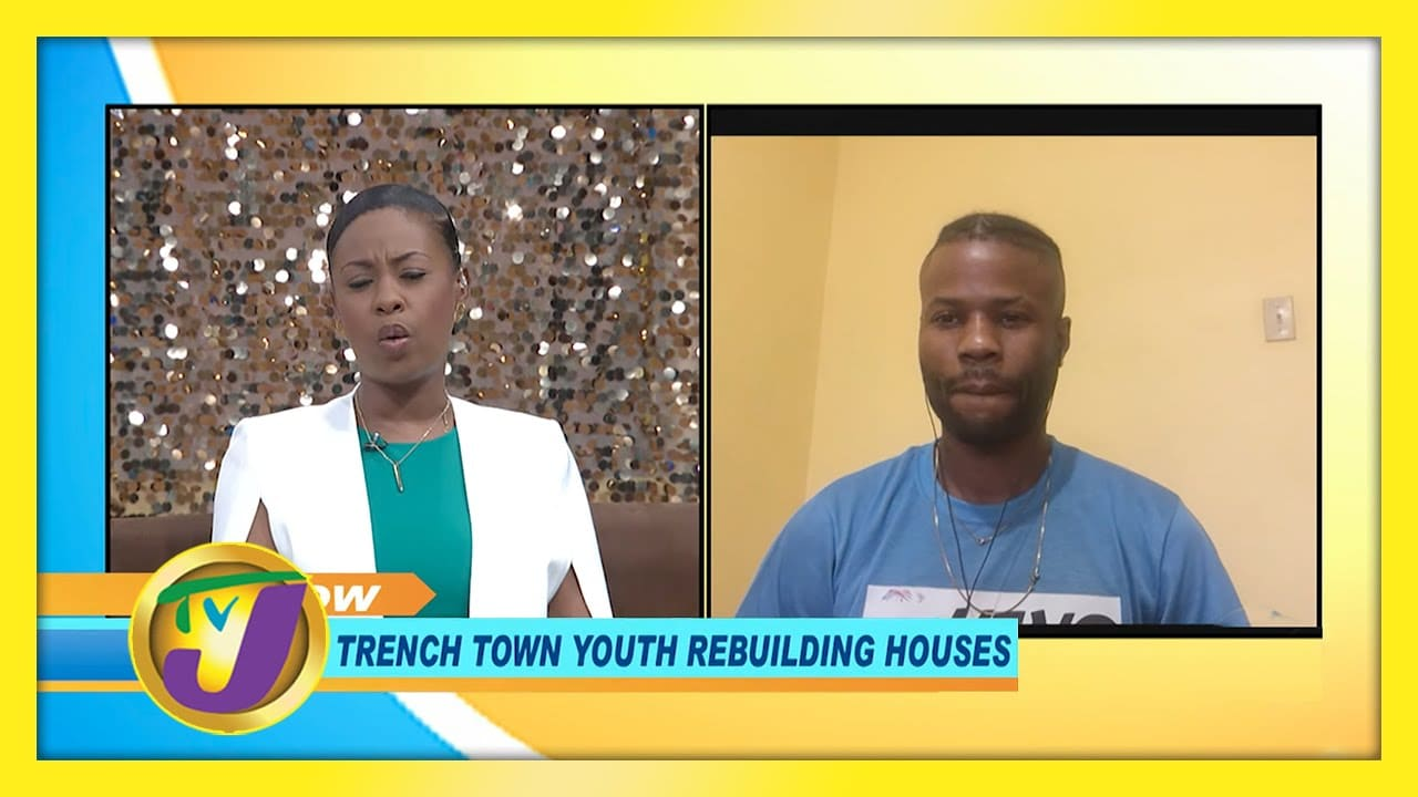 Trench Town Youth Rebuilding Houses: TVJ Smile Jamaica - December 9 2020 1