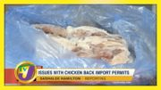 Issues with Chicken Back Import Permits - December 9 2020 5