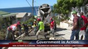 GOVERNMENT IN ACTION - Checkhall Road Rehabilitation 3