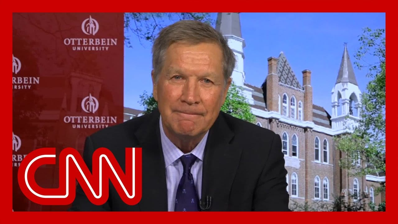 John Kasich on Americans' hardships: It makes you want to cry 1