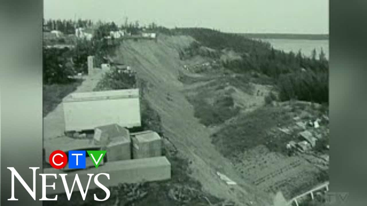 1968: Aftermath of deadly Fort Smith, N.W.T. landslide 1