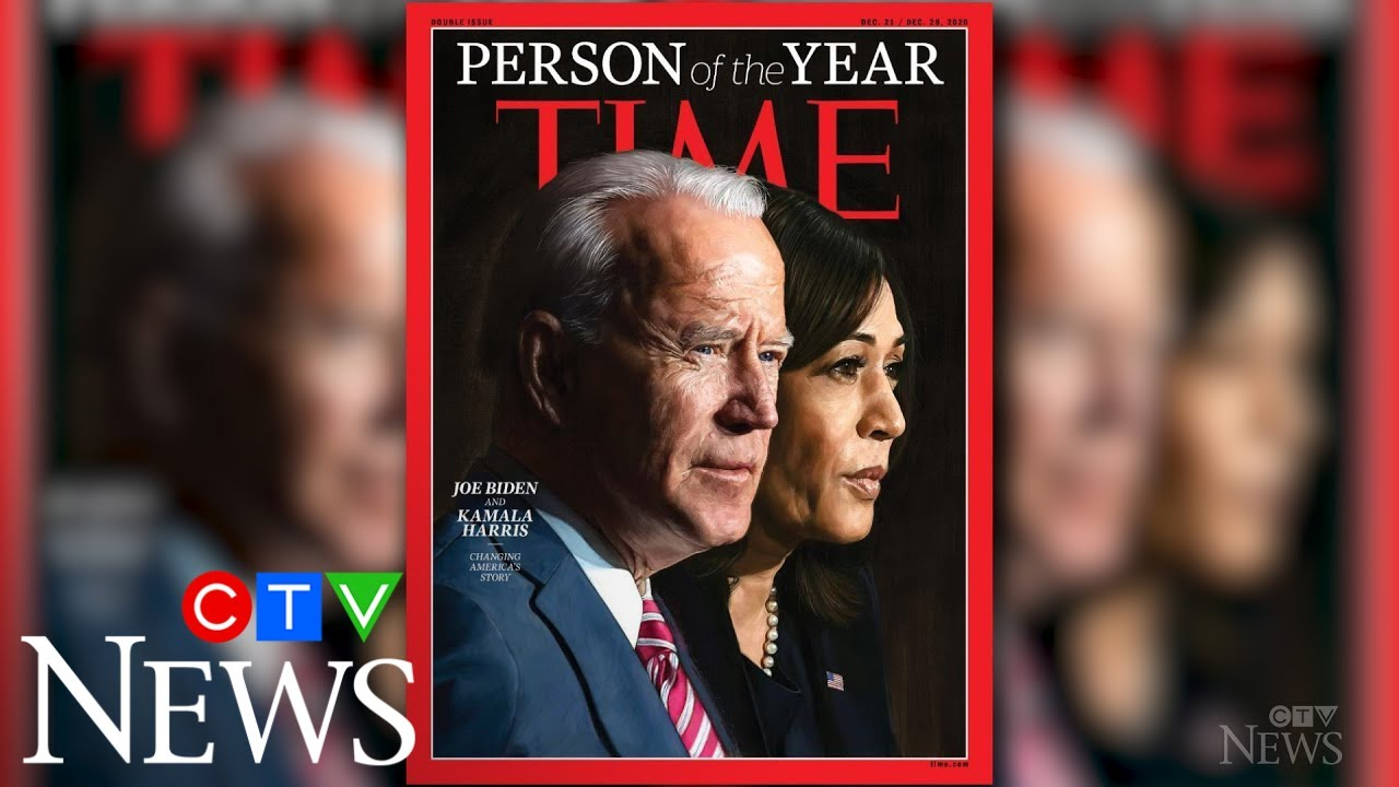 Biden, Harris are Time magazine's 'Person of the Year' 1