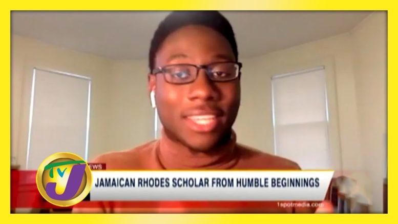 Jamaican Rhodes Scholar from Humble Beginnings - November 30 2020 1