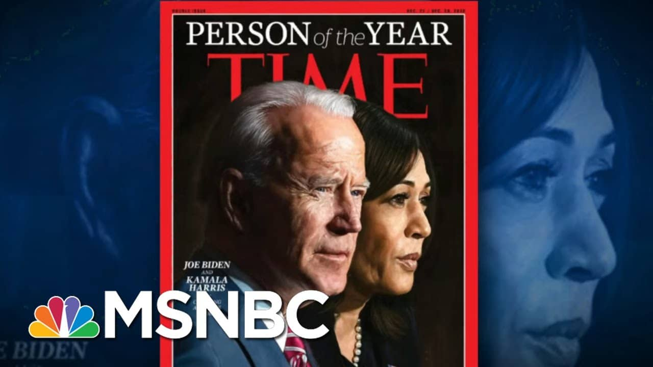 Joe Biden, Kamala Harris Are TIME's 2020 Person Of The Year | The 11th Hour | MSNBC 1