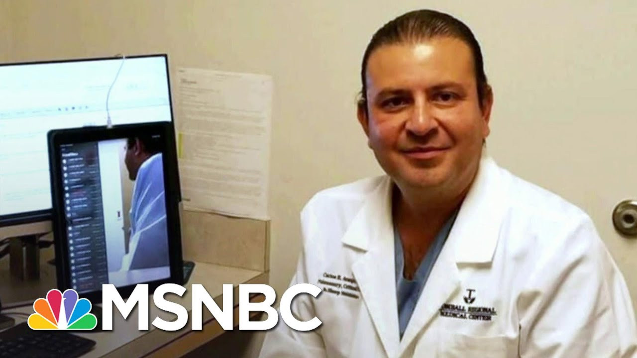 Houston Doctor Succumbs To Covid After Months Of Saving Patients | Andrea Mitchell | MSNBC 1