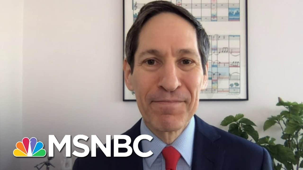 Dr. Frieden 'Absolutely' Satisfied With The Vaccine Authorization Process | Stephanie Ruhle | MSNBC 1