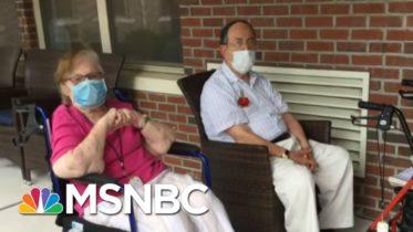 'Hallelujah': Elderly Americans Eagerly Await Vaccine Distribution | Hallie Jackson | MSNBC 6