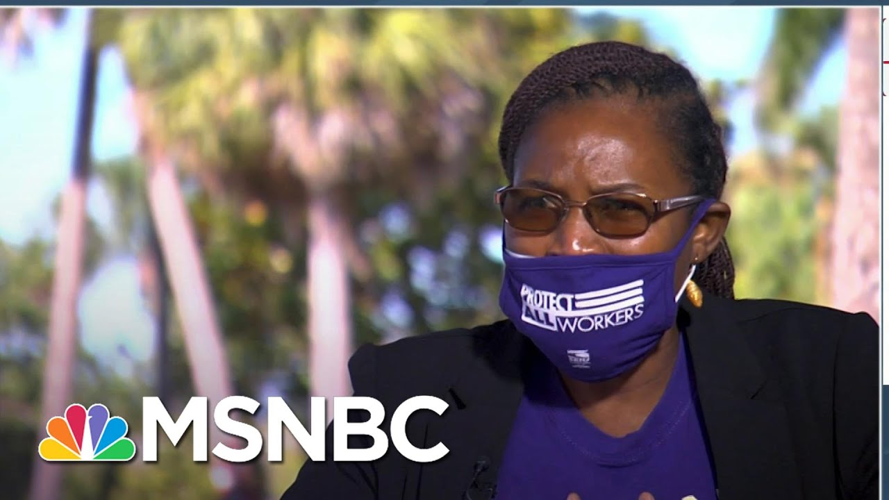 Nursing Home Employee: 'We Have To Do What We Have To Do To Survive' | Craig Melvin | MSNBC 1