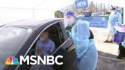 WATCH: An Inside Look At A Vaccine Drive-Through Test Run | Katy Tur | MSNBC 5