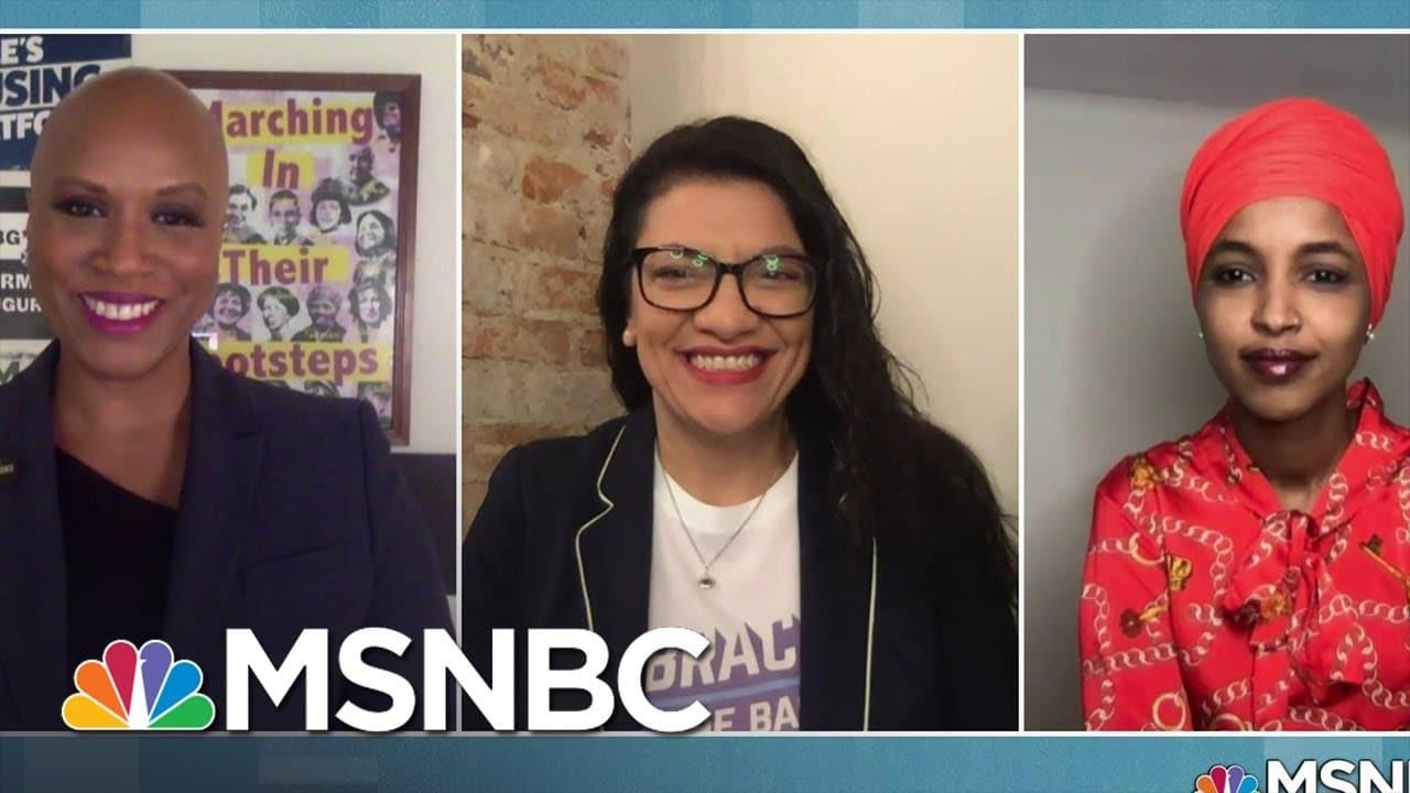 Representatives Pressley, Tlaib, Omar On Dire Need To Pass COVID Economic Relief   MSNBC 1