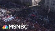 Trump Supporters Protest Election Results At The National Mall, March To Supreme Court | MSNBC 3
