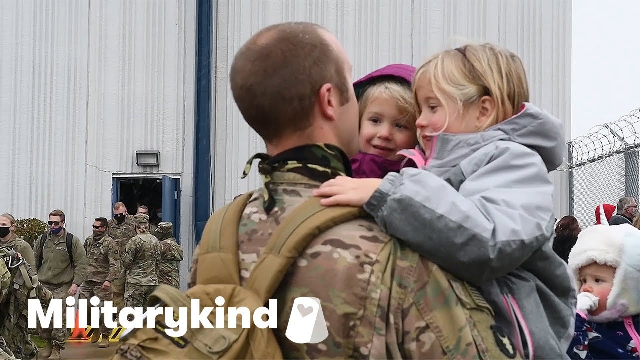 National Guard unit home for holidays | Militarykind 5