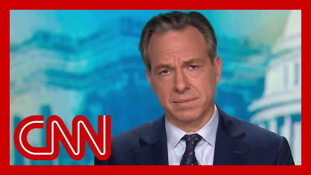 Jake Tapper wants to thank Trump. Hear why 1