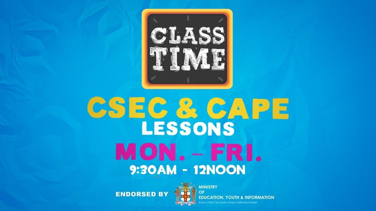 CSEC Chemistry | CSEC Mathematics | CAPE Communication Studies - December 1 2020 1