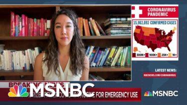 Nurse in COVID-19 Vaccine Trial Experiences '104.9 Fever' | MSNBC 6