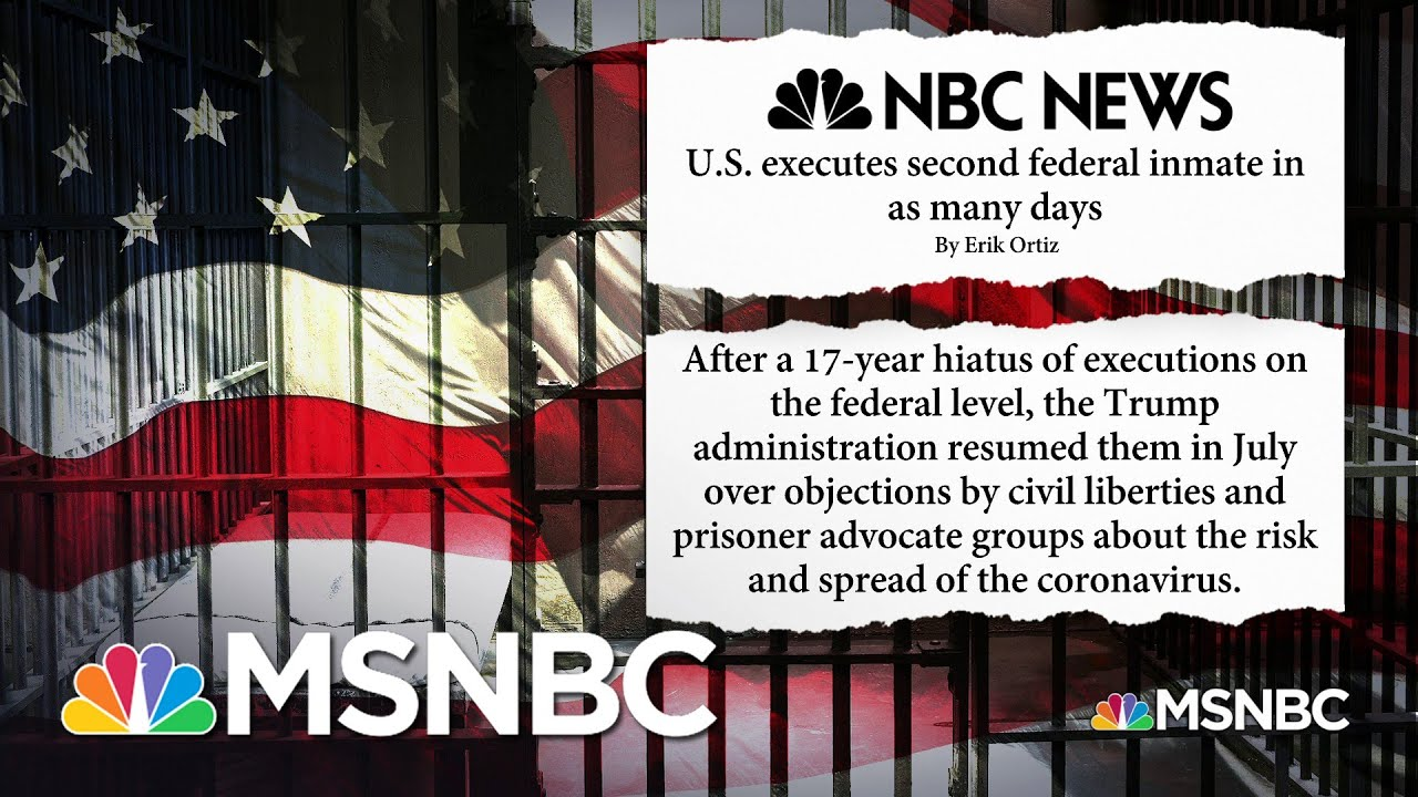 'We See An Administration That Is Hell-Bent On Killing People' | MSNBC 1