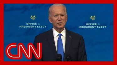 Watch Joe Biden's full address to the nation after Electoral College reaffirms his victory 6