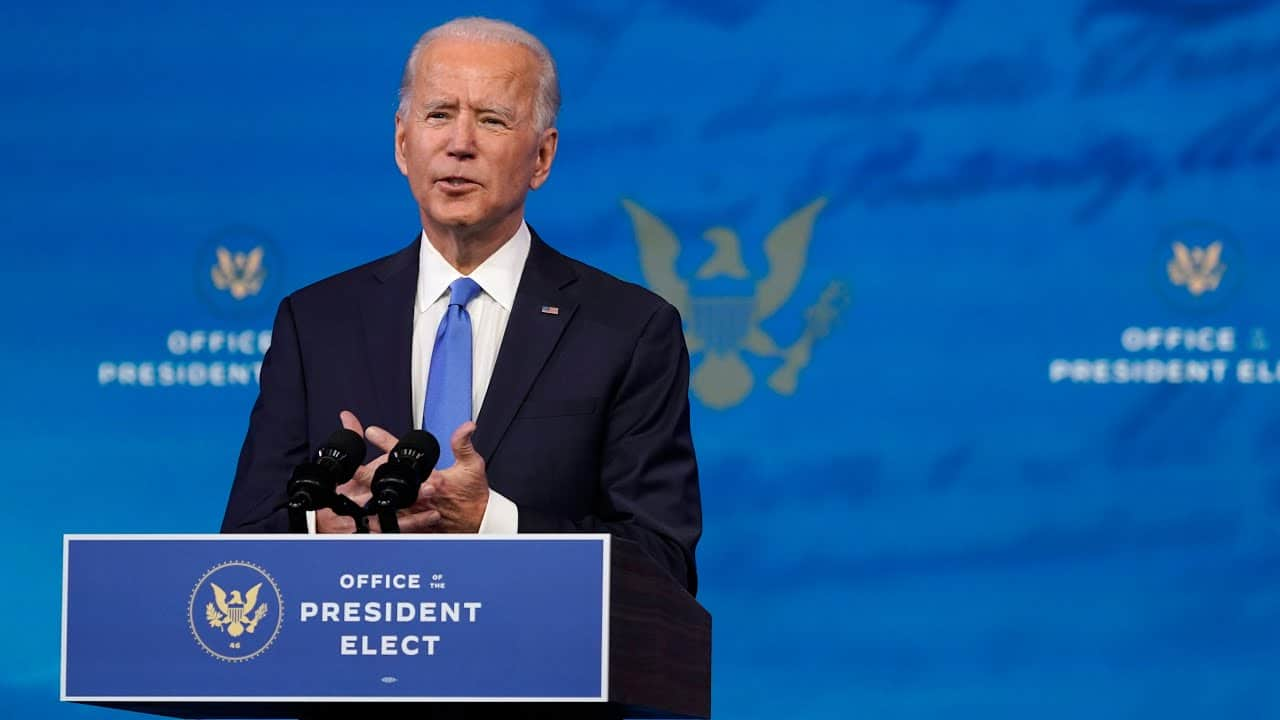 Biden condemns Trump's election claims as an abuse of power 1