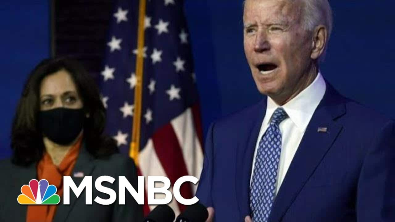 Electoral College Set To Vote To Make Biden's 2020 Victory Official   Morning Joe   MSNBC 1