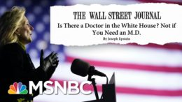 The Doctor Is In. Backlash Ensues Over WSJ Op-ed About Dr. Jill Biden | MSNBC 5