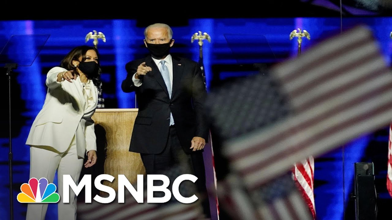 Biden Officially Reaches 270 Electoral Votes To Become President-Elect   Deadline   MSNBC 1