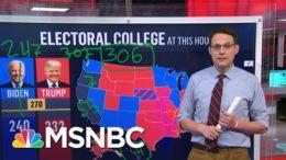 Steve Kornacki Back At The Big Board: Explaining The Electoral College | Deadline | MSNBC 3
