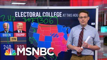 Steve Kornacki Back At The Big Board: Explaining The Electoral College | Deadline | MSNBC 6