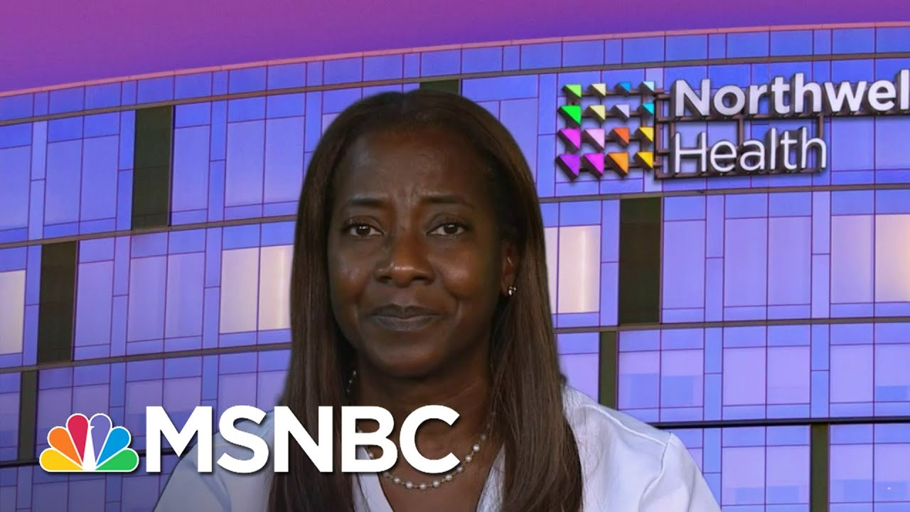 NYC Nurse First To Get Vaccinated For Covid-19 In United States | The ReidOut | MSNBC 1